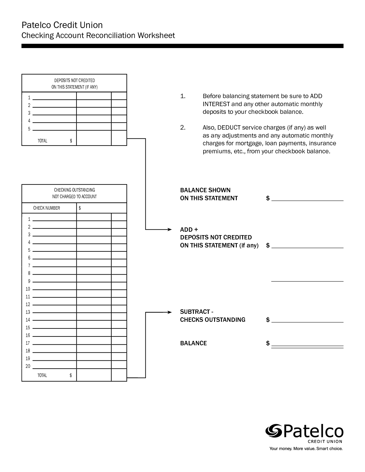 T Account Worksheet Examples