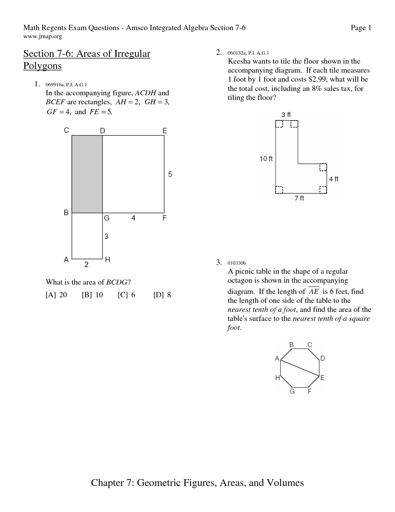How To Find The Perimeter Of A Irregular Polygon