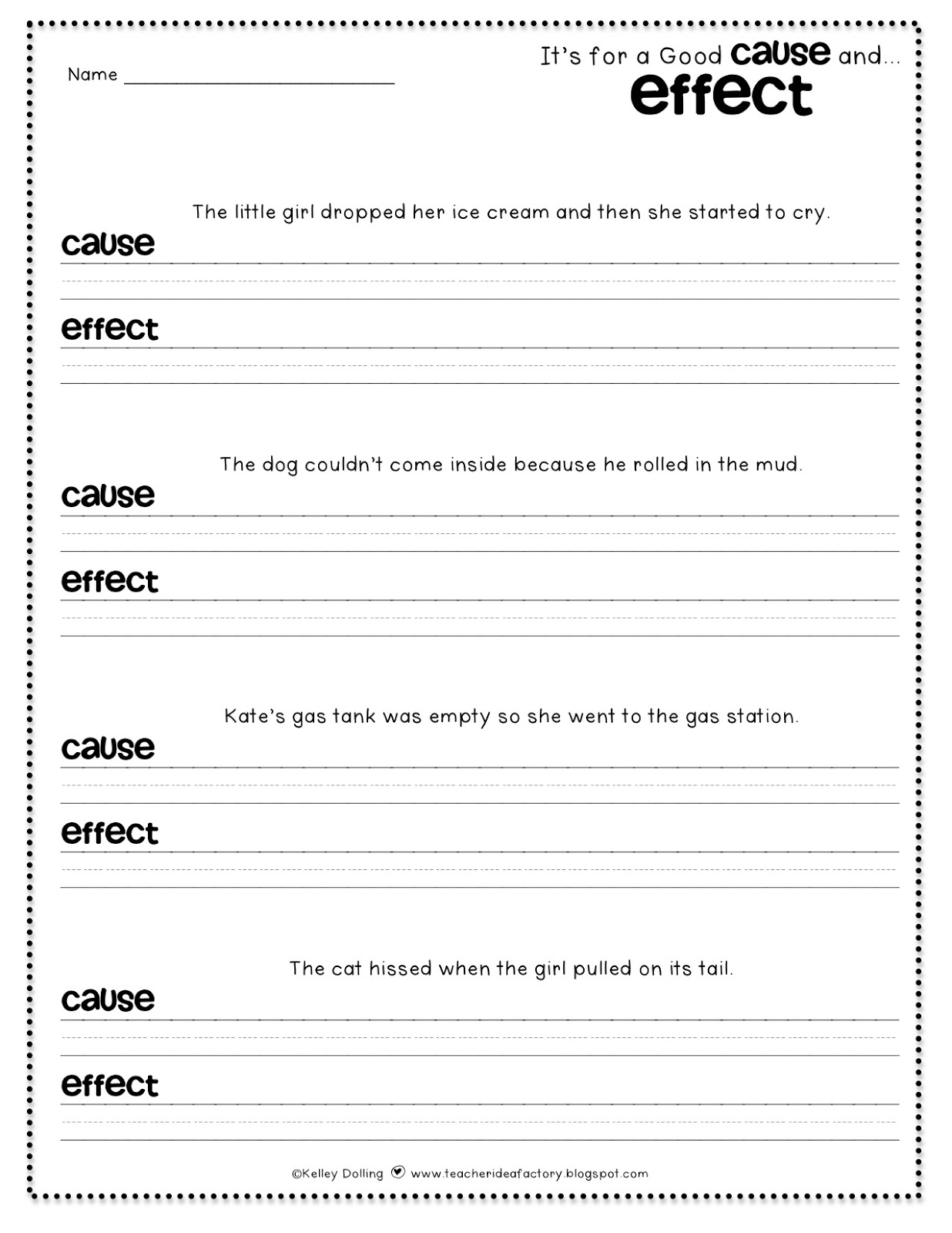 12 Easy Cause And Effect Activities And Worksheets