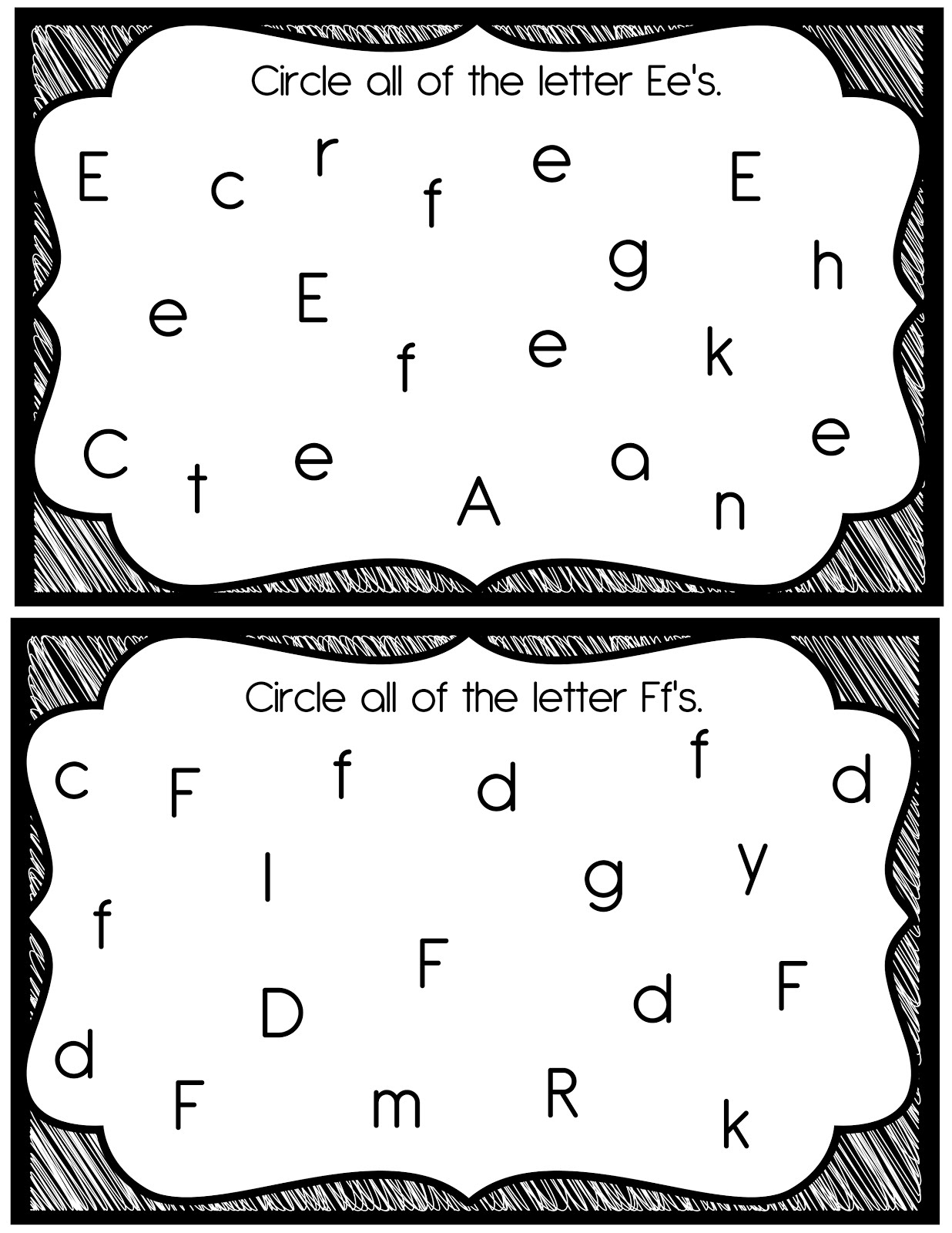 14 Best Images Of Find The Letter K Worksheet