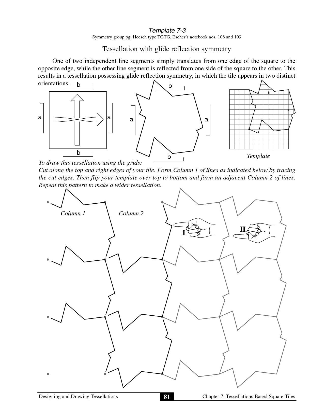 Worksheets Tessellation Worksheet Cheatslist Free