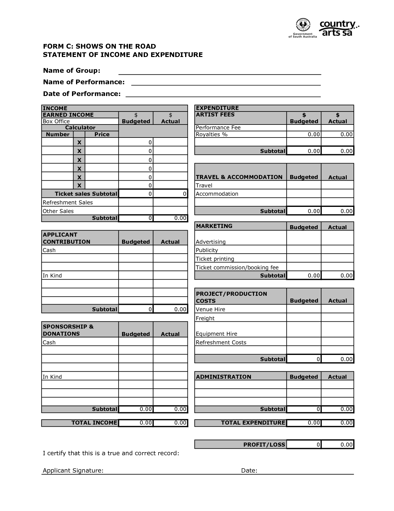 16 Best Images Of Cash Flow Budget Worksheet Template