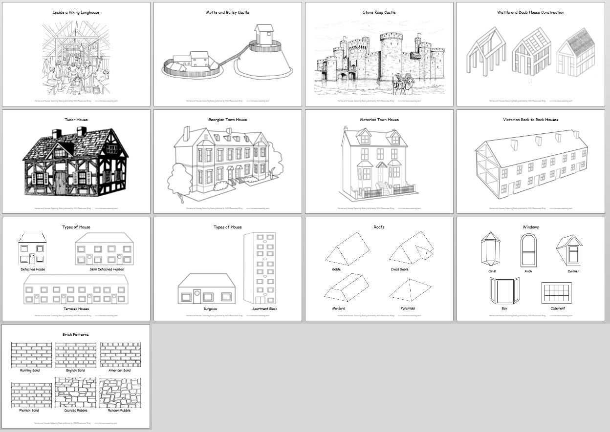 11 Best Images Of Important Building In Town Worksheet