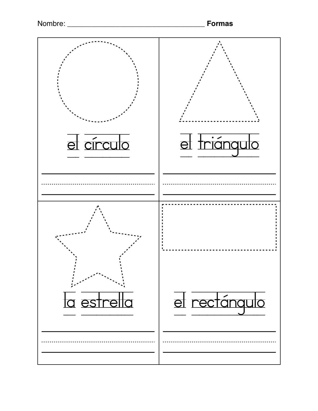14 Best Images Of Basic Spanish Worksheets