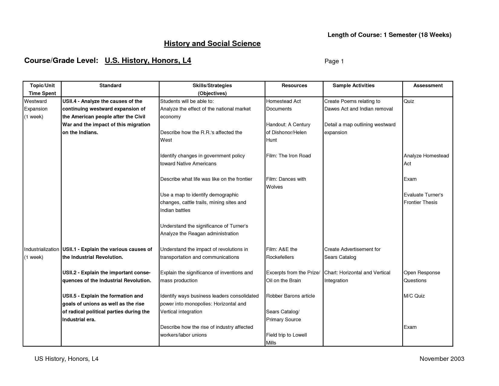 The Gilded Age Worksheet Answers