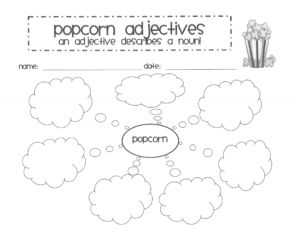15 Best Images Of Adjective Worksheets For Students