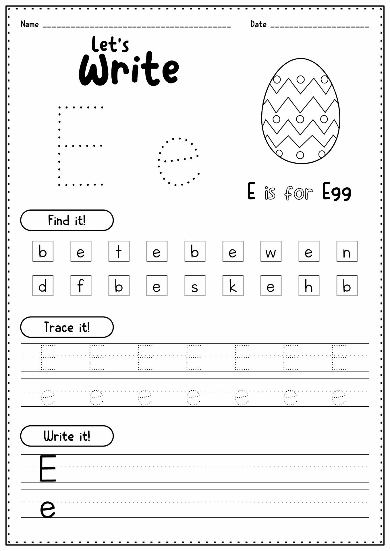 16 Best Images Of Alphabet Homework Worksheets