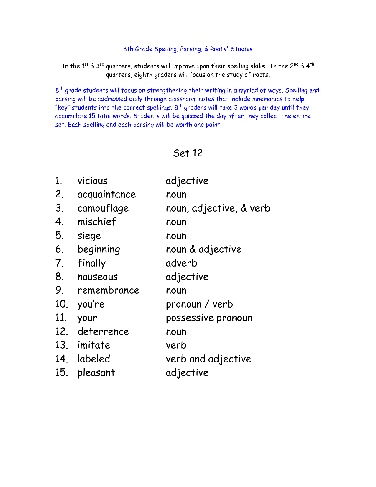 13 Best Images Of 5th Grade Math Vocabulary Worksheets