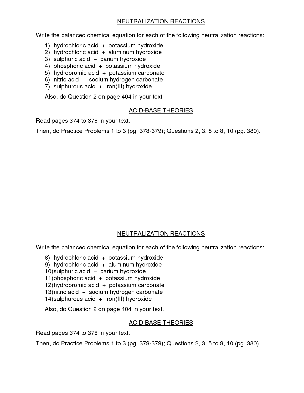 12 Best Images Of Acid Rain And Ph Worksheet Answers