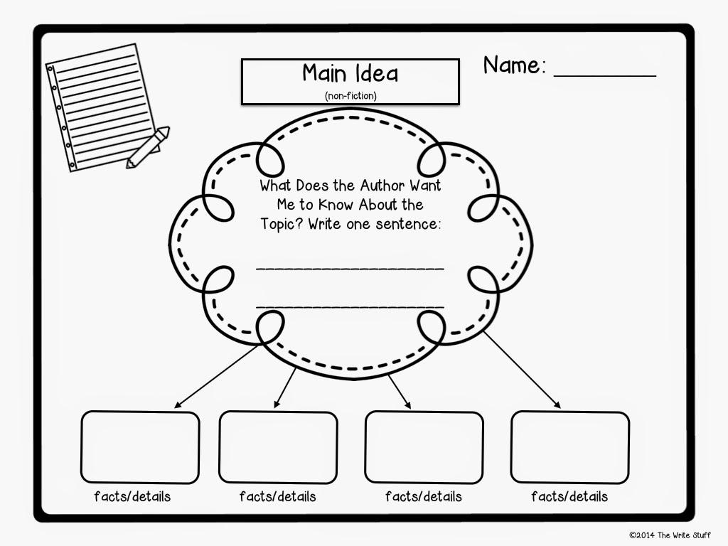 Finding Details Worksheets