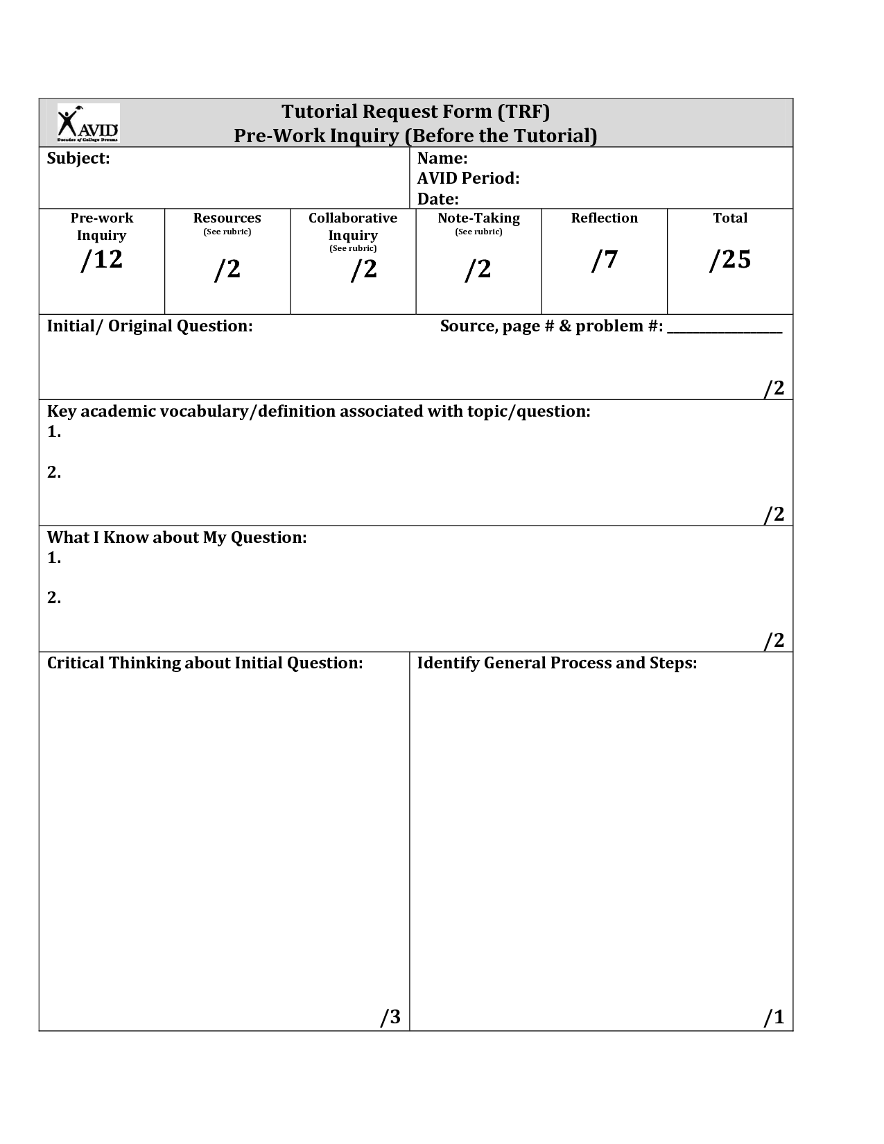 19 Best Images Of Cornell Note Taking Worksheet