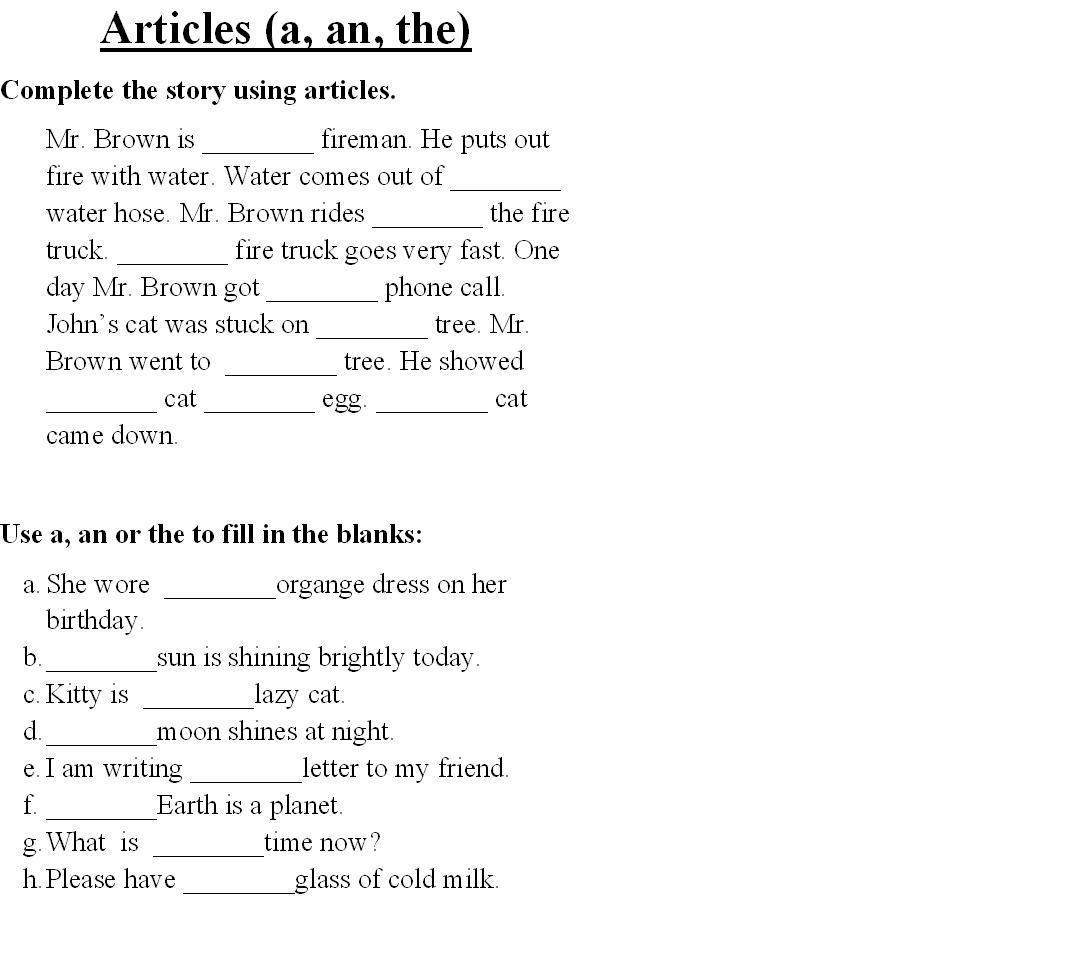 4th Grade Adverbs Worksheet