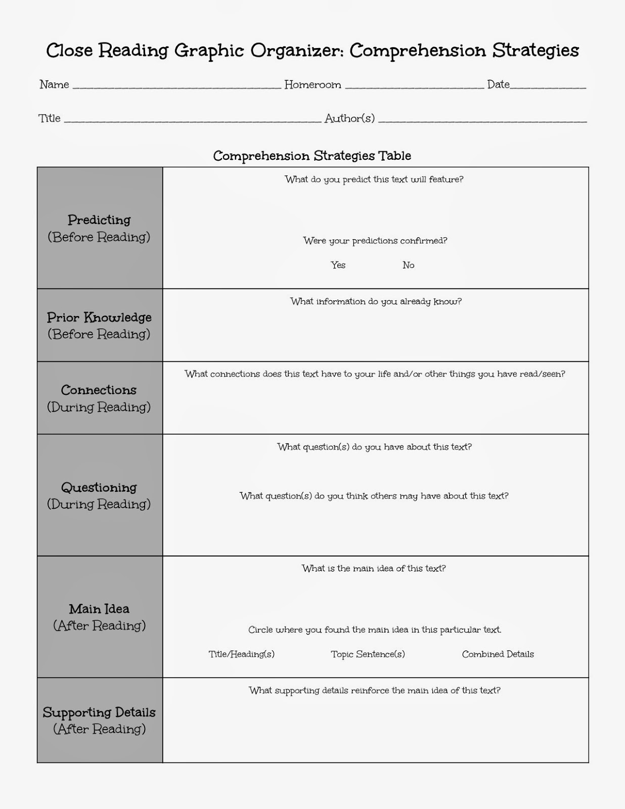 17 Best Images Of Index Glossary And Worksheets