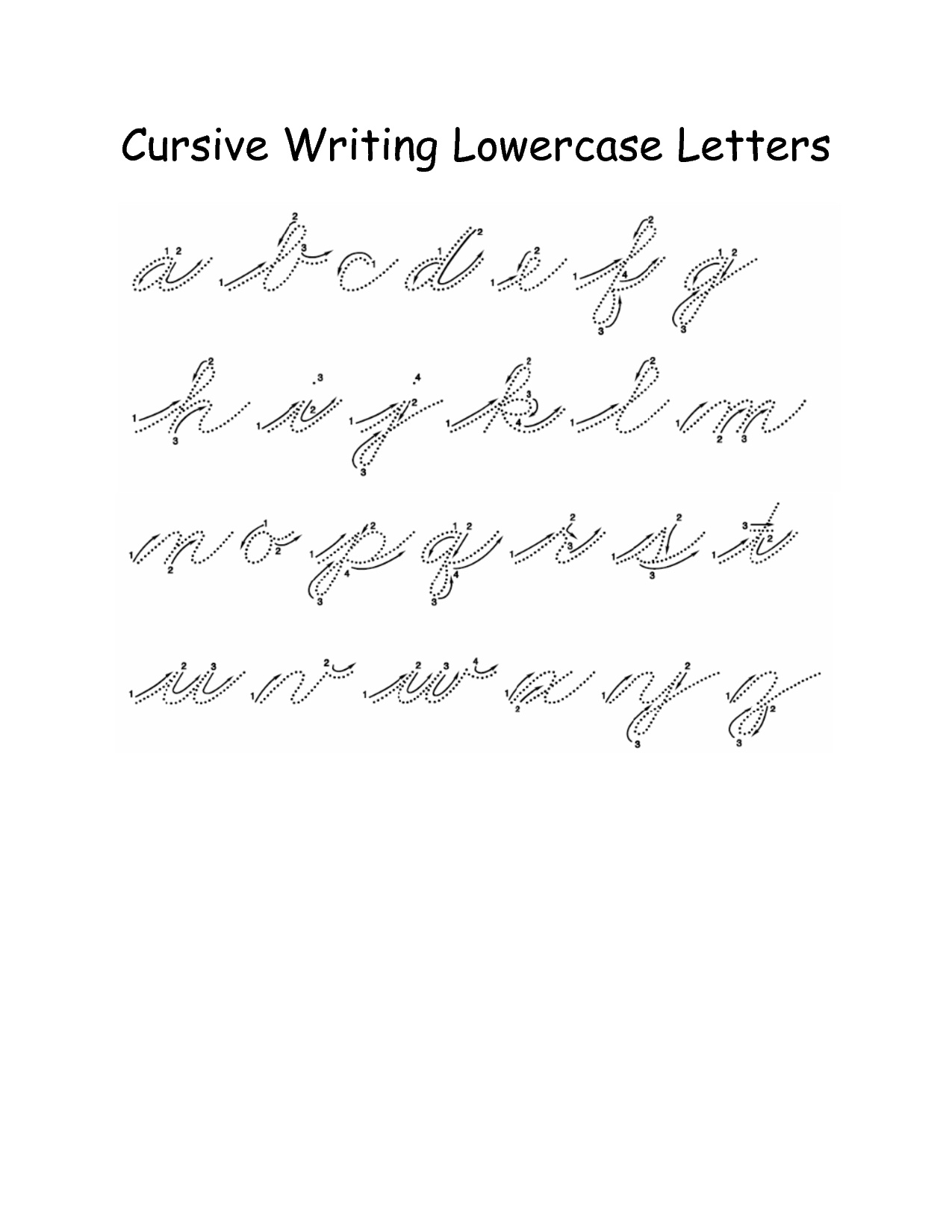 12 Best Images Of Capital Cursive Letters Worksheets