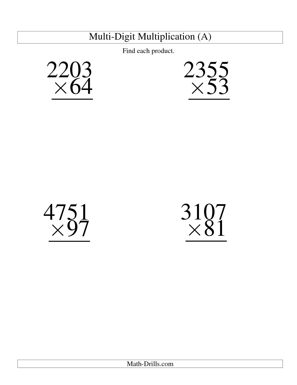 15 Best Images Of Multiplication Worksheets Coloring Pages