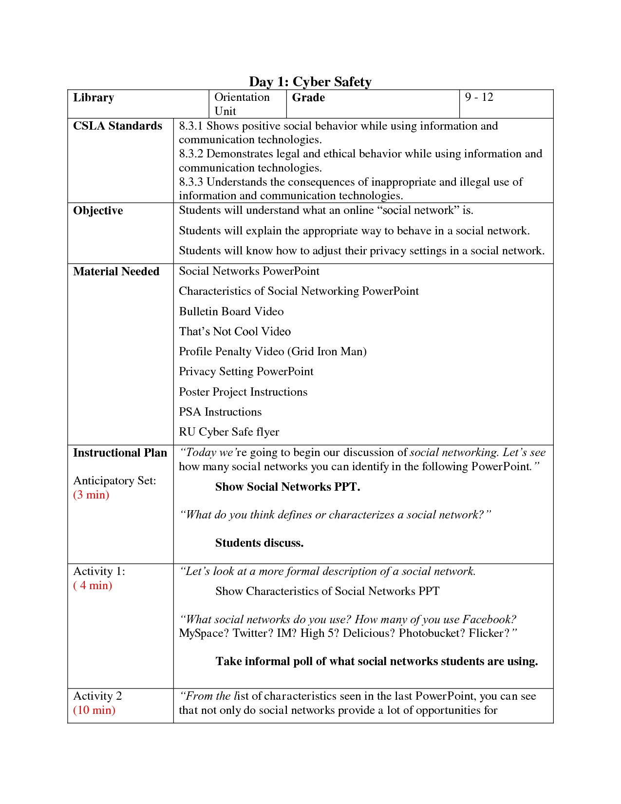 16 Best Images Of Personal Safety Worksheets