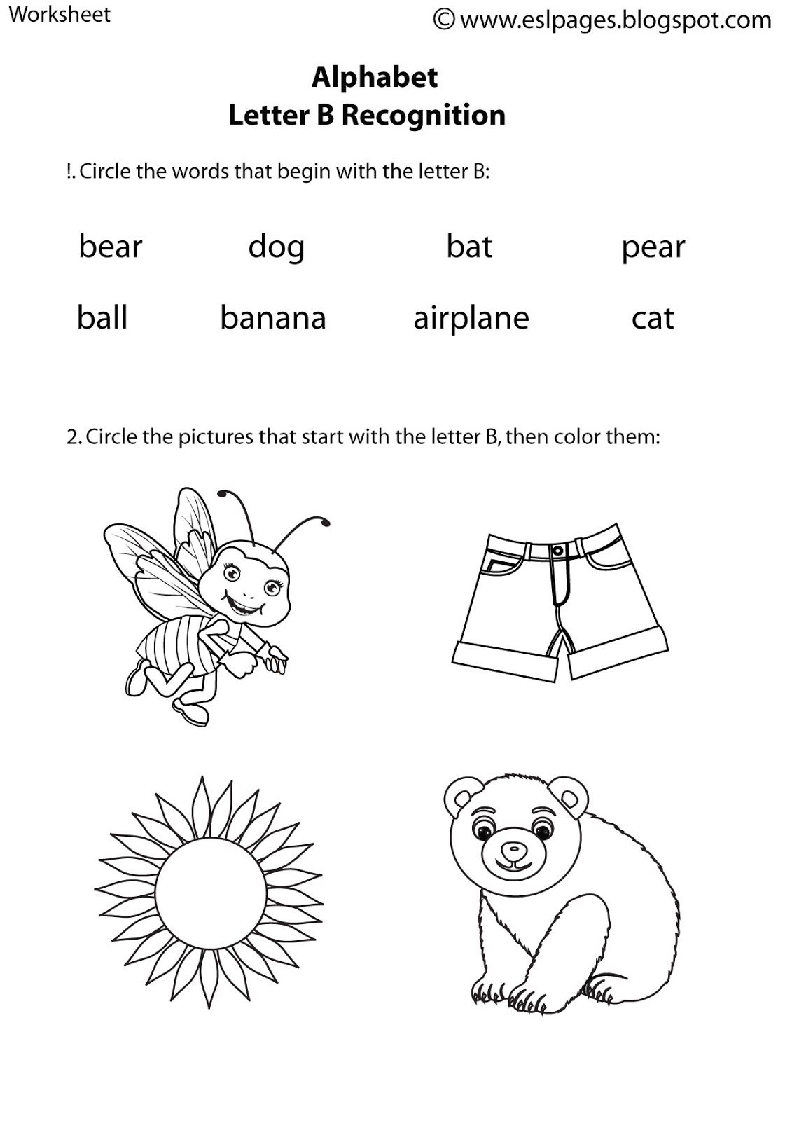 13 Best Images Of Same Size Worksheets