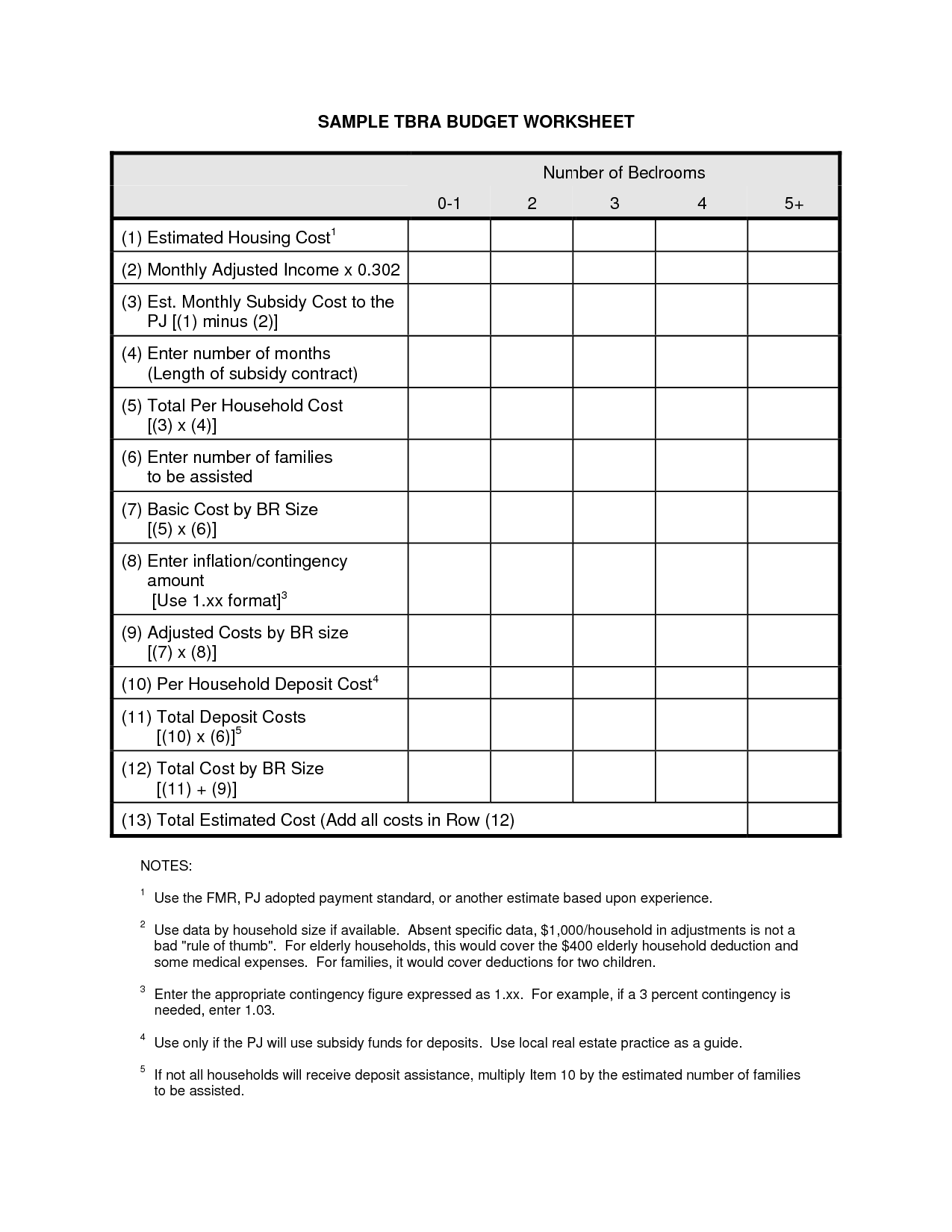 14 Best Images Of Monthly Income Budget Worksheet