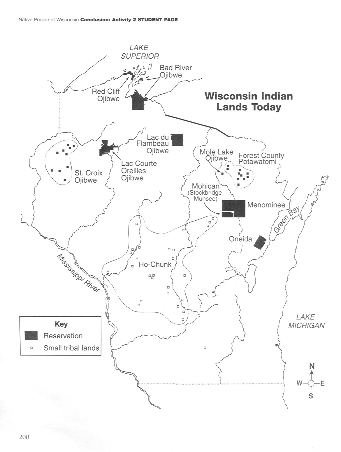 9 Best Images Of Native American Map Worksheet