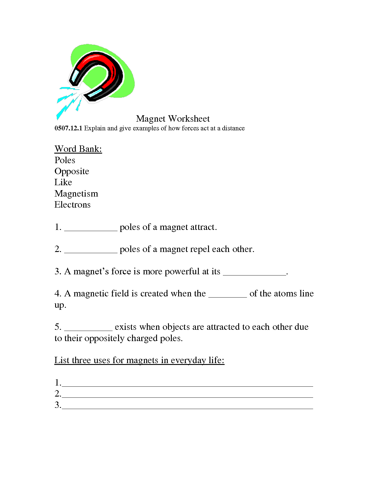 15 Best Images Of Science Worksheets For 1st Graders