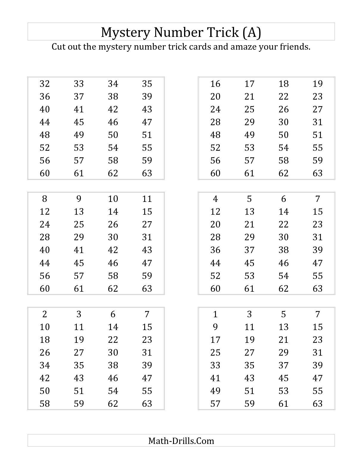 10 Best Images Of Number Detective Math Worksheet