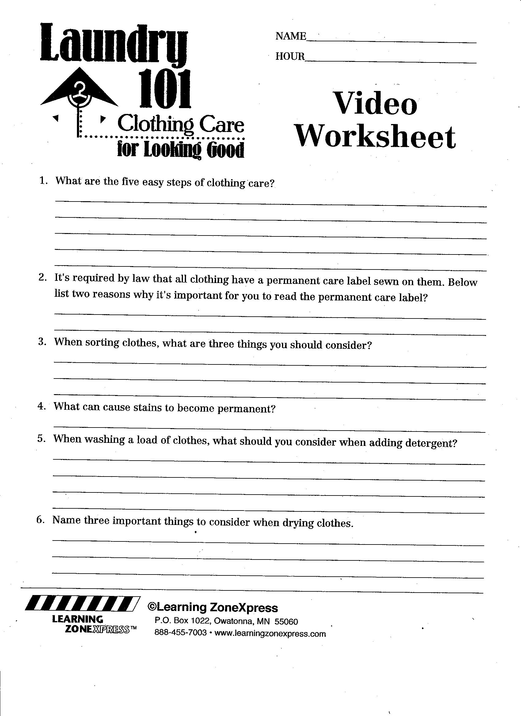14 Best Images Of Career Pathways Worksheets