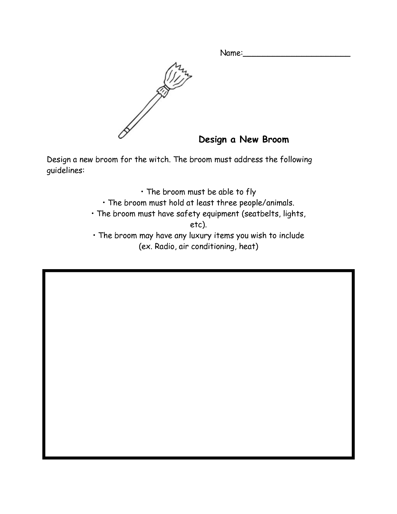 Design Visualization Worksheet