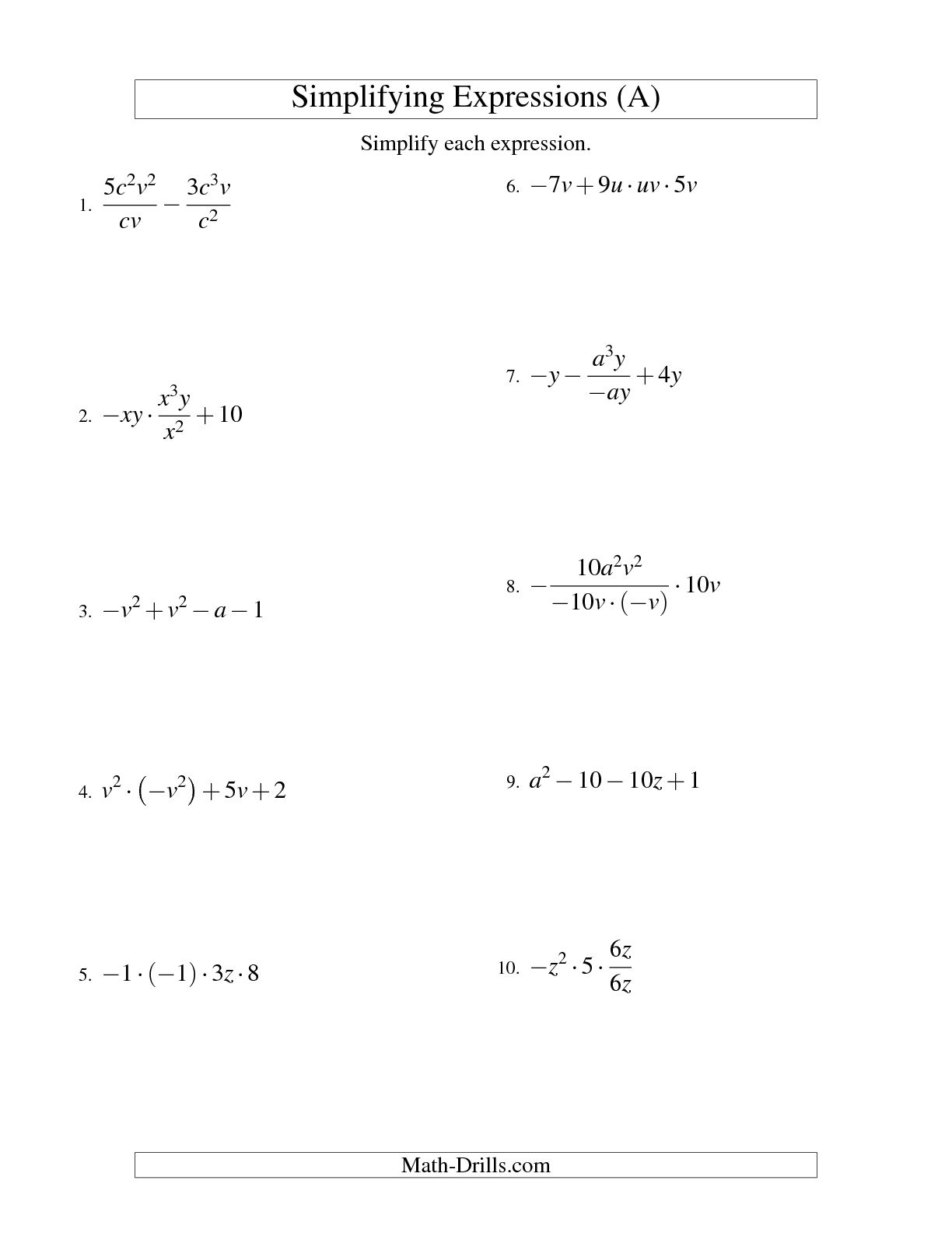 13 Best Images Of 8th Grade Math Exponents Worksheets 6 Th Grade