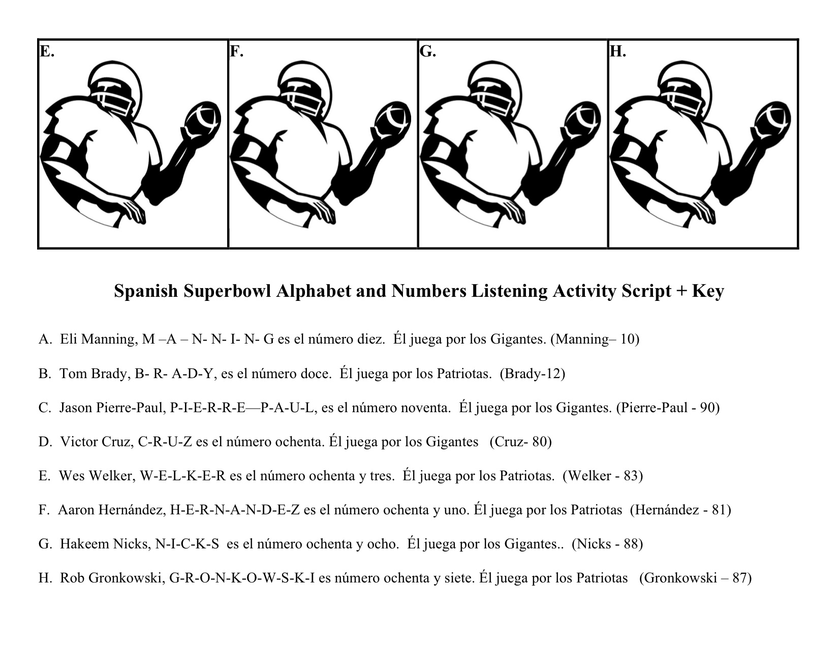 17 Best Images Of Spanish Pronunciation Worksheets