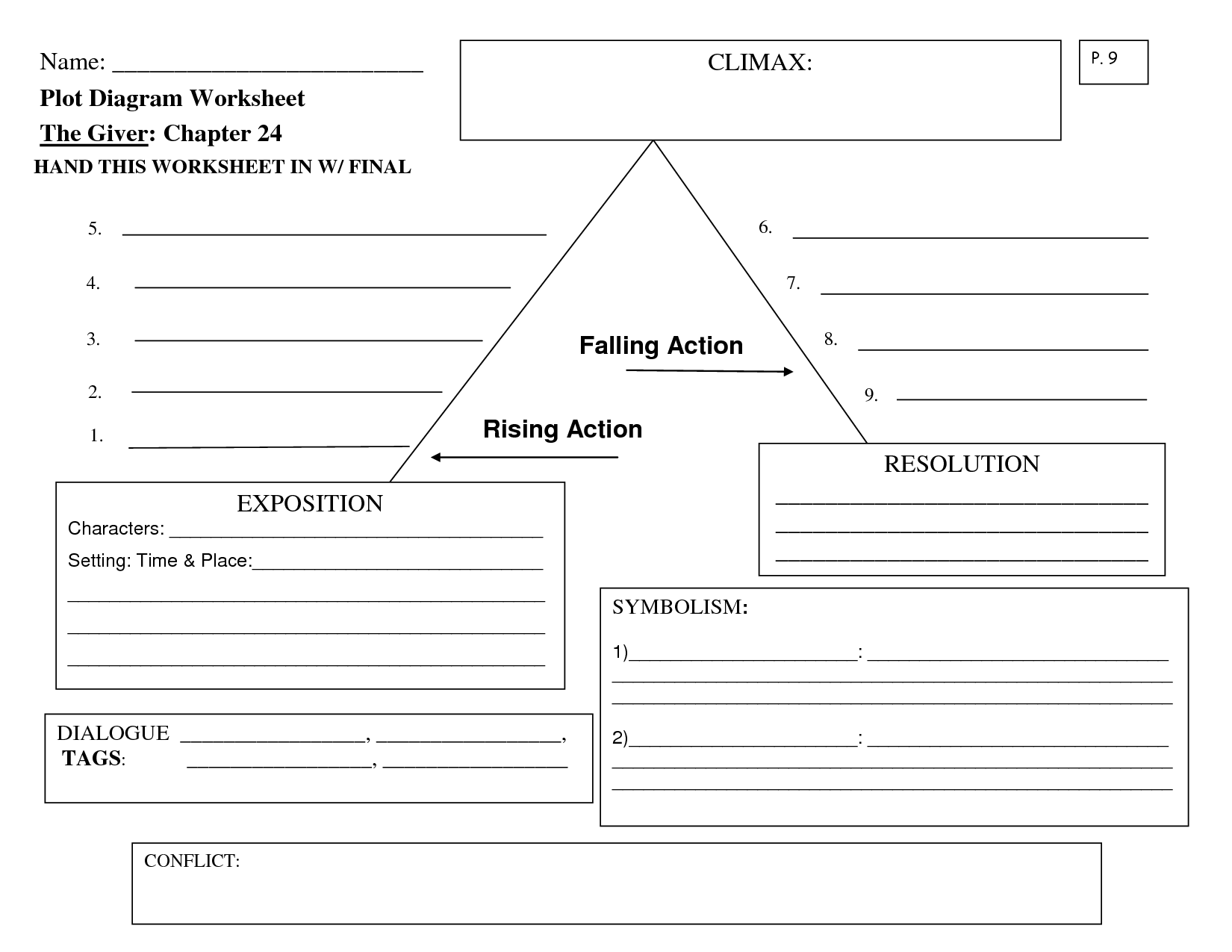 15 Best Images Of Story Climax Worksheet