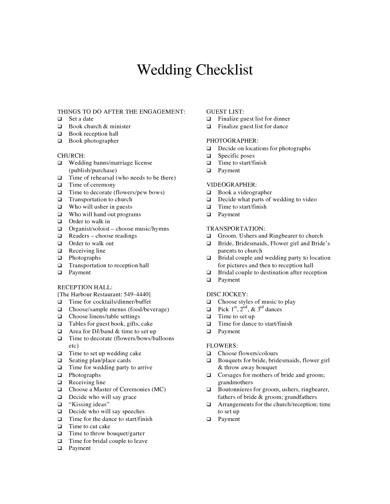 15 Best Images Of Wedding Guest List Worksheets