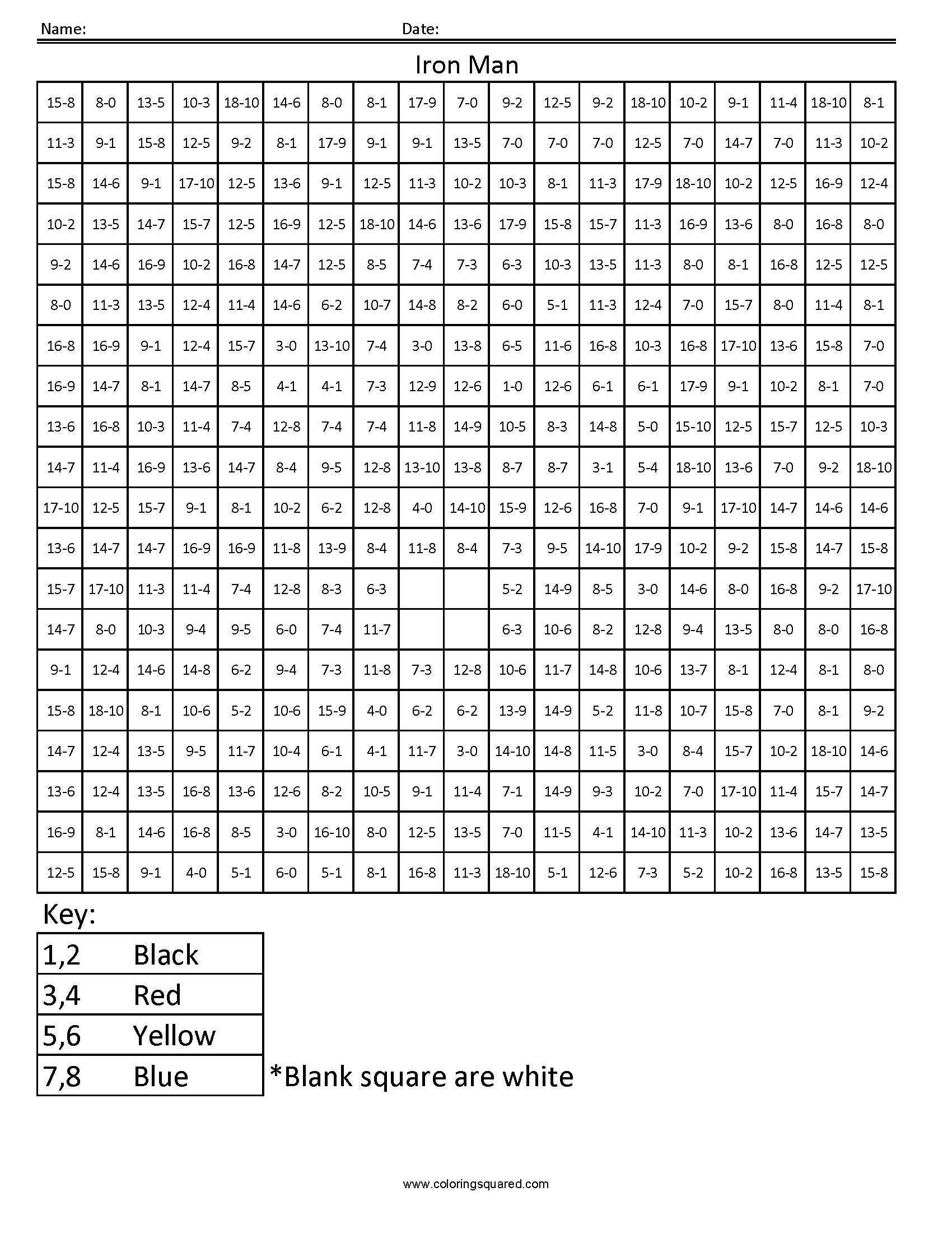 Christmas Math Coloring Worksheet 3rd Grade