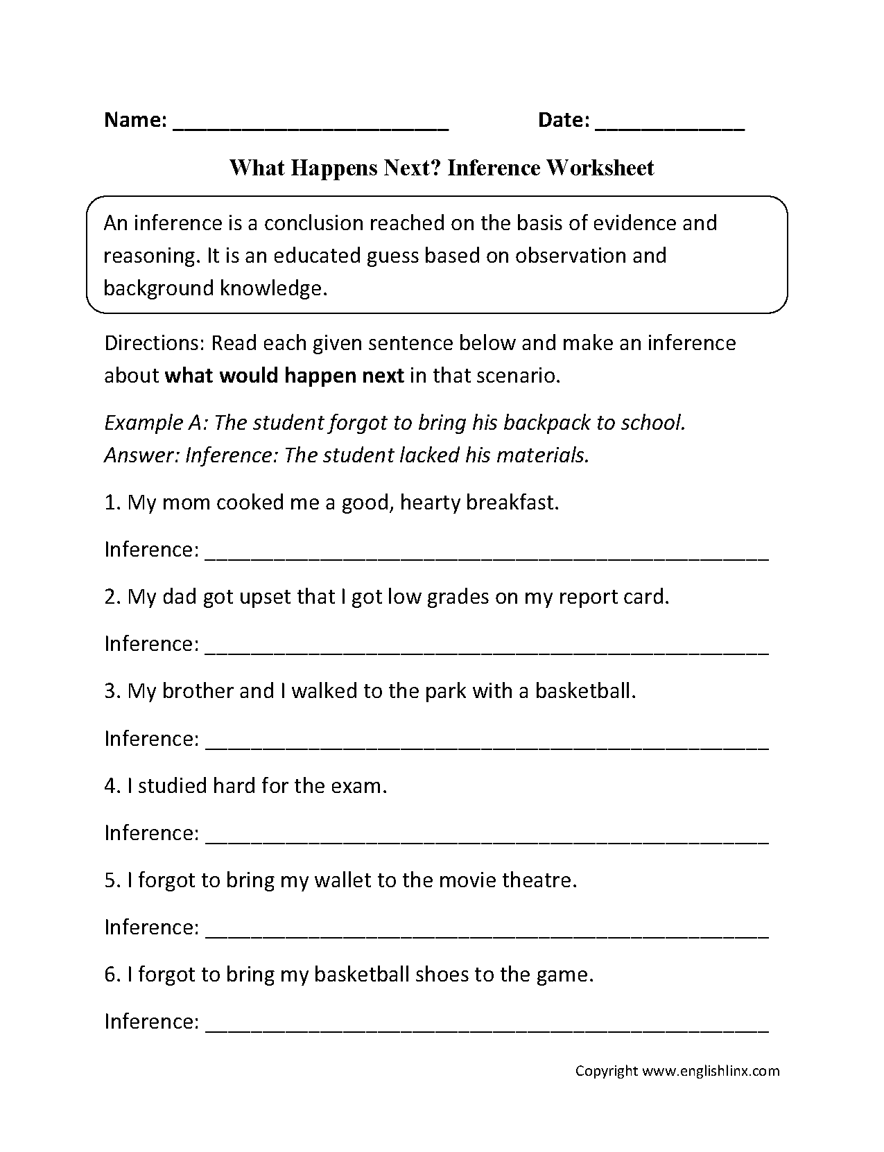 3rd Grade Worksheet Category Page 13