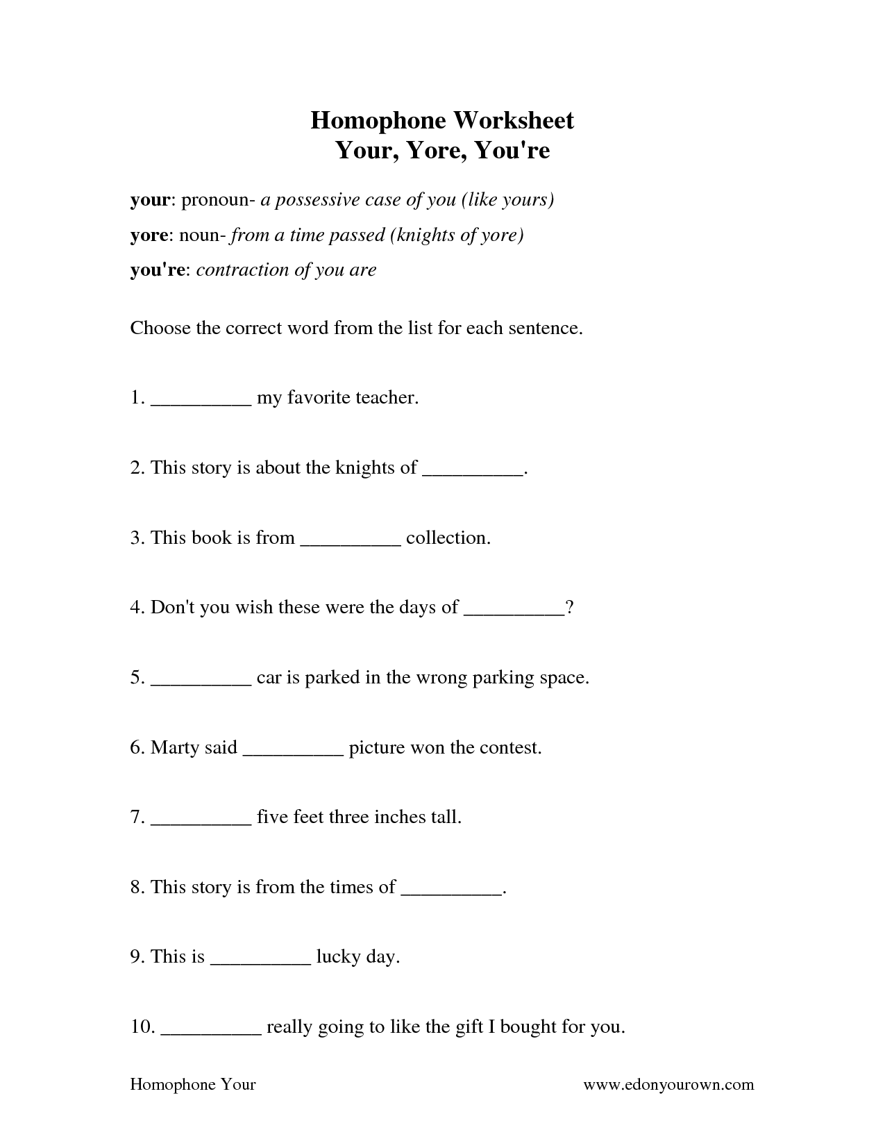 18 Best Images Of Contraction Or Possessive Noun Worksheet