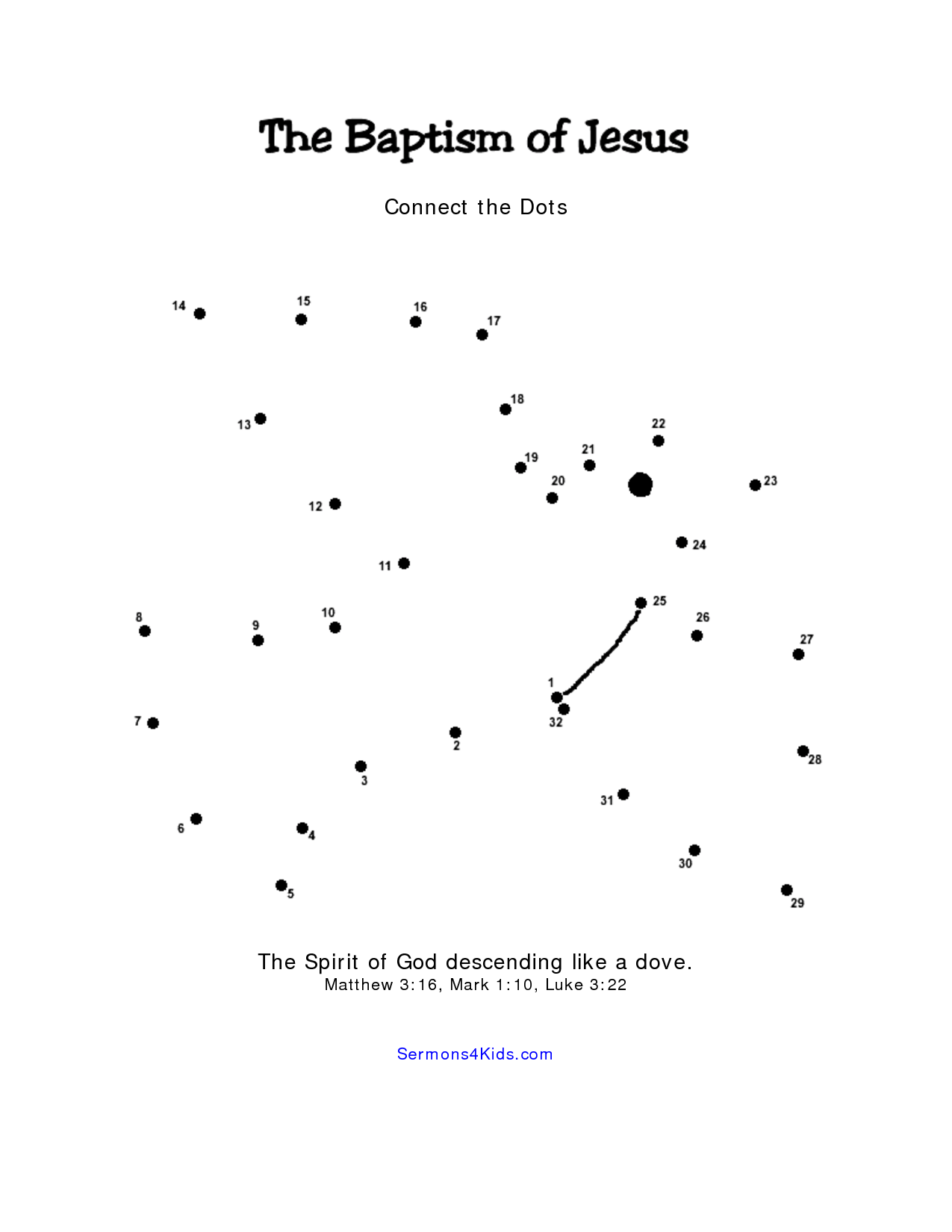 15 Best Images Of Bible Dot To Dot Worksheets