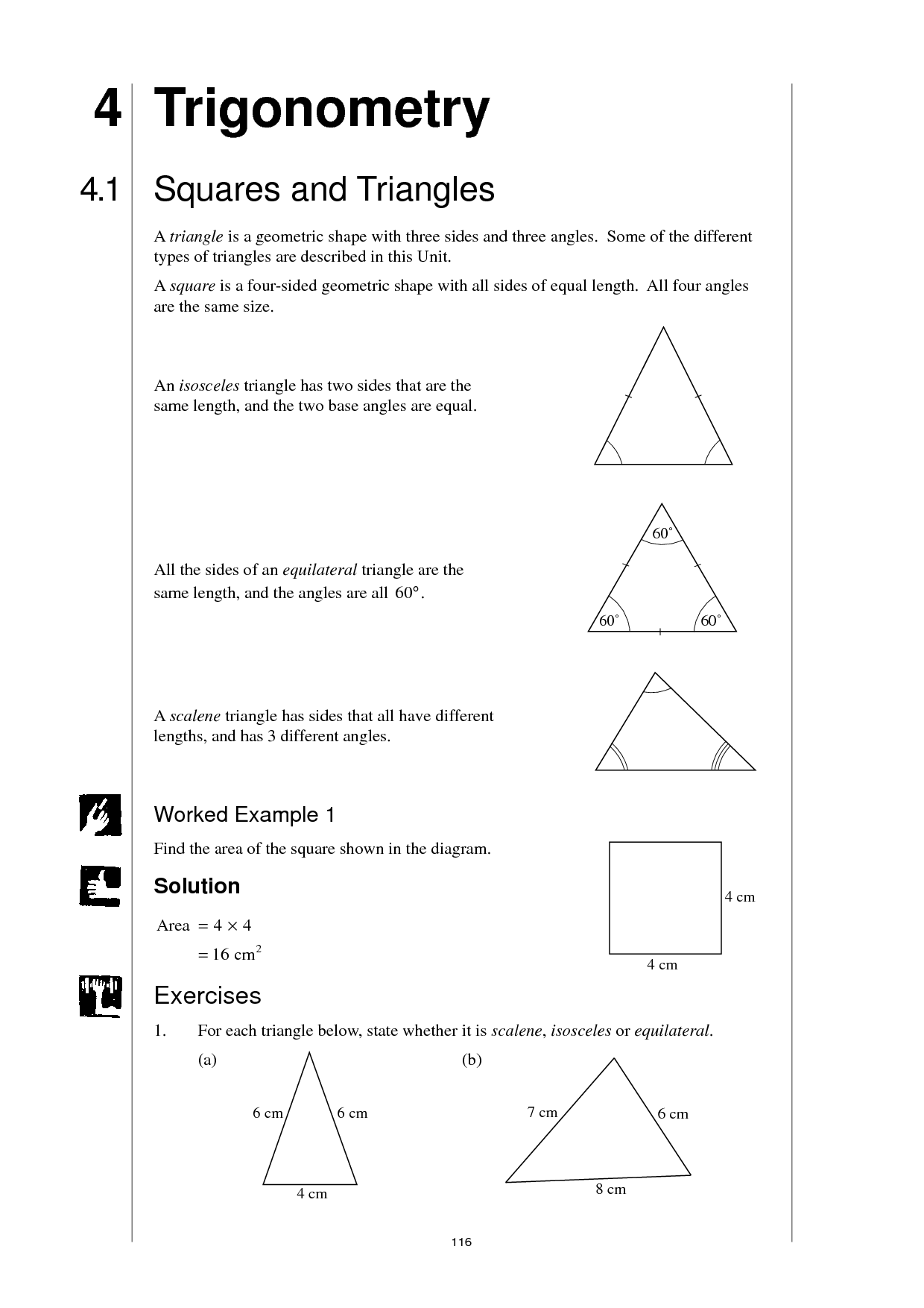 13 Best Images Of Types Of Triangles Worksheet