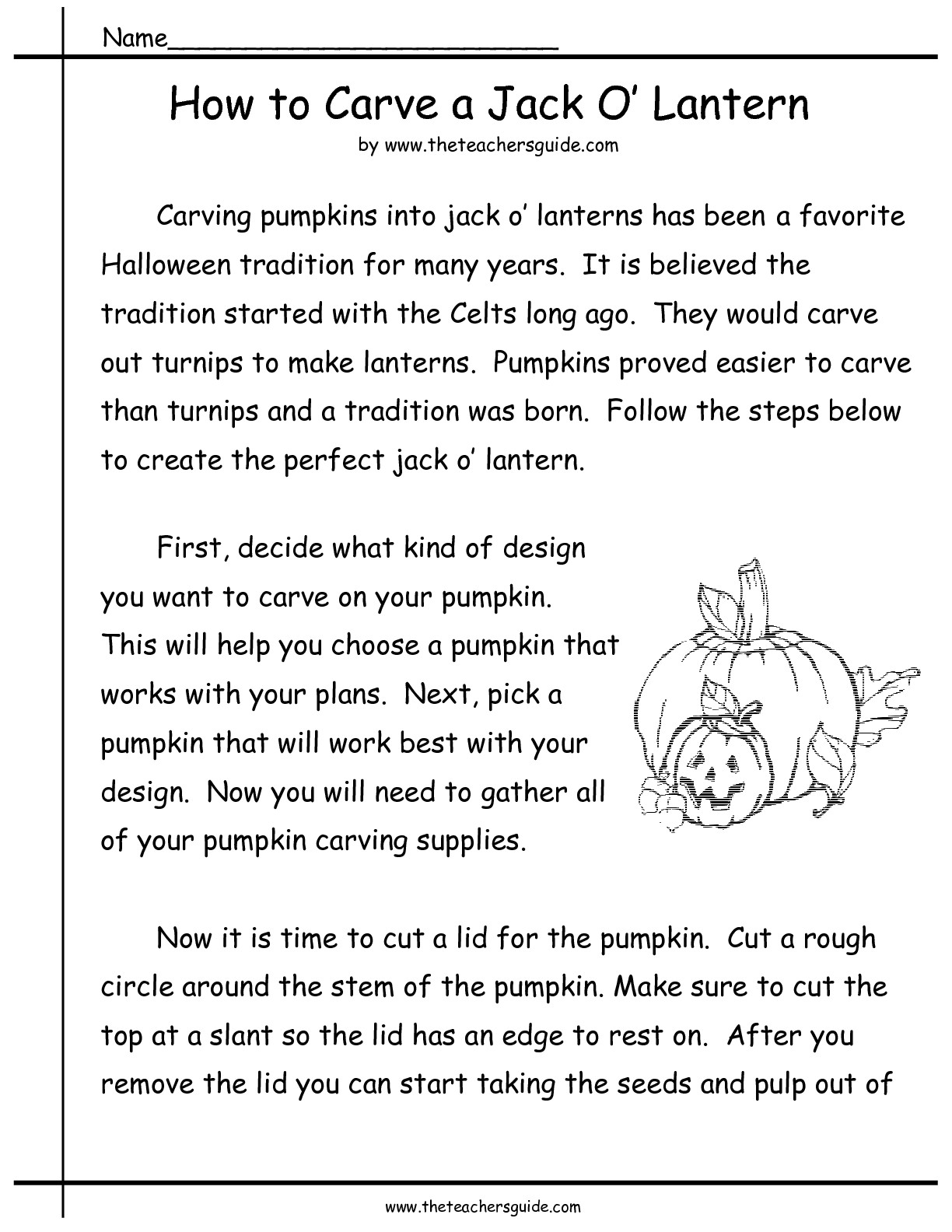 13 Best Images Of Pumpkin Math Activities Worksheets