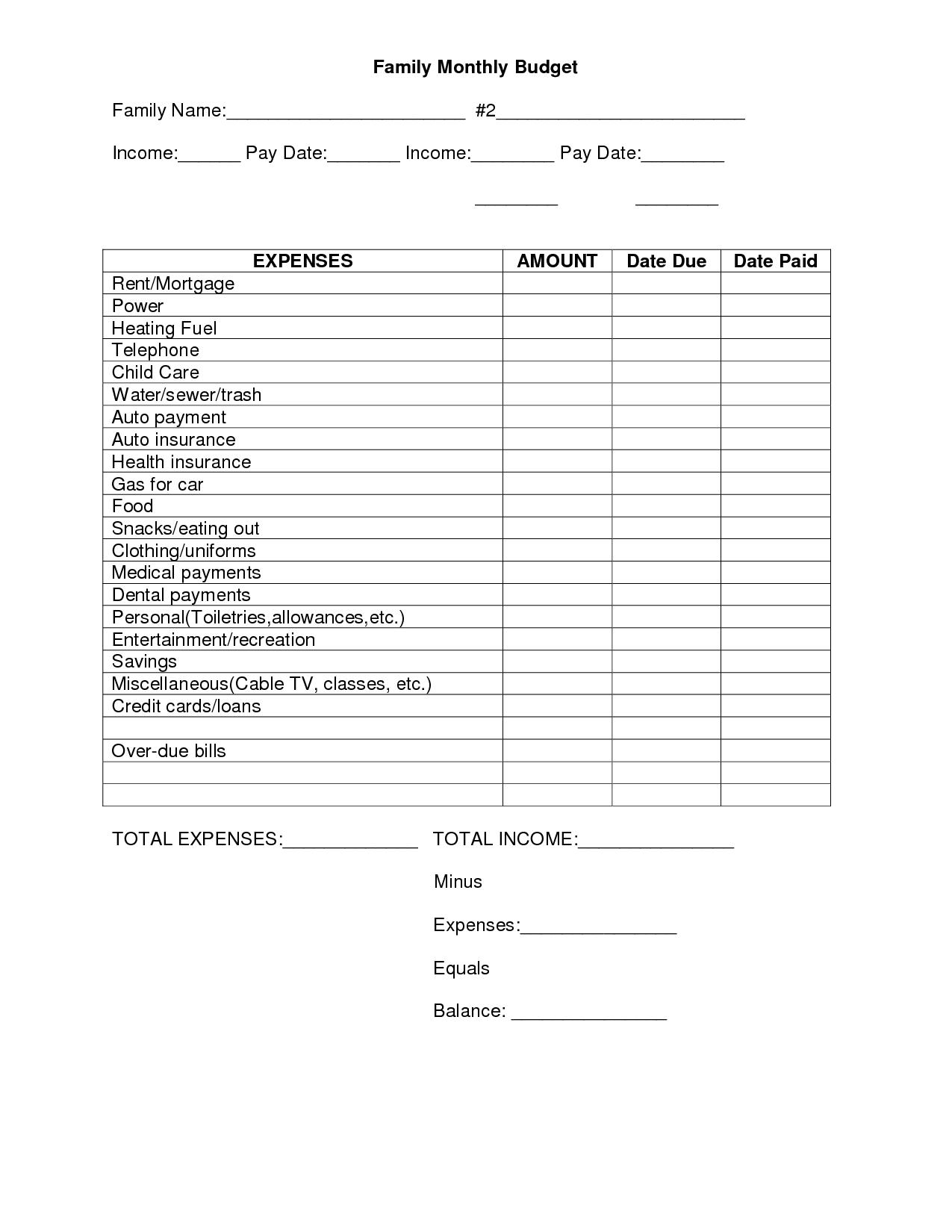 College Goal Setting Worksheet