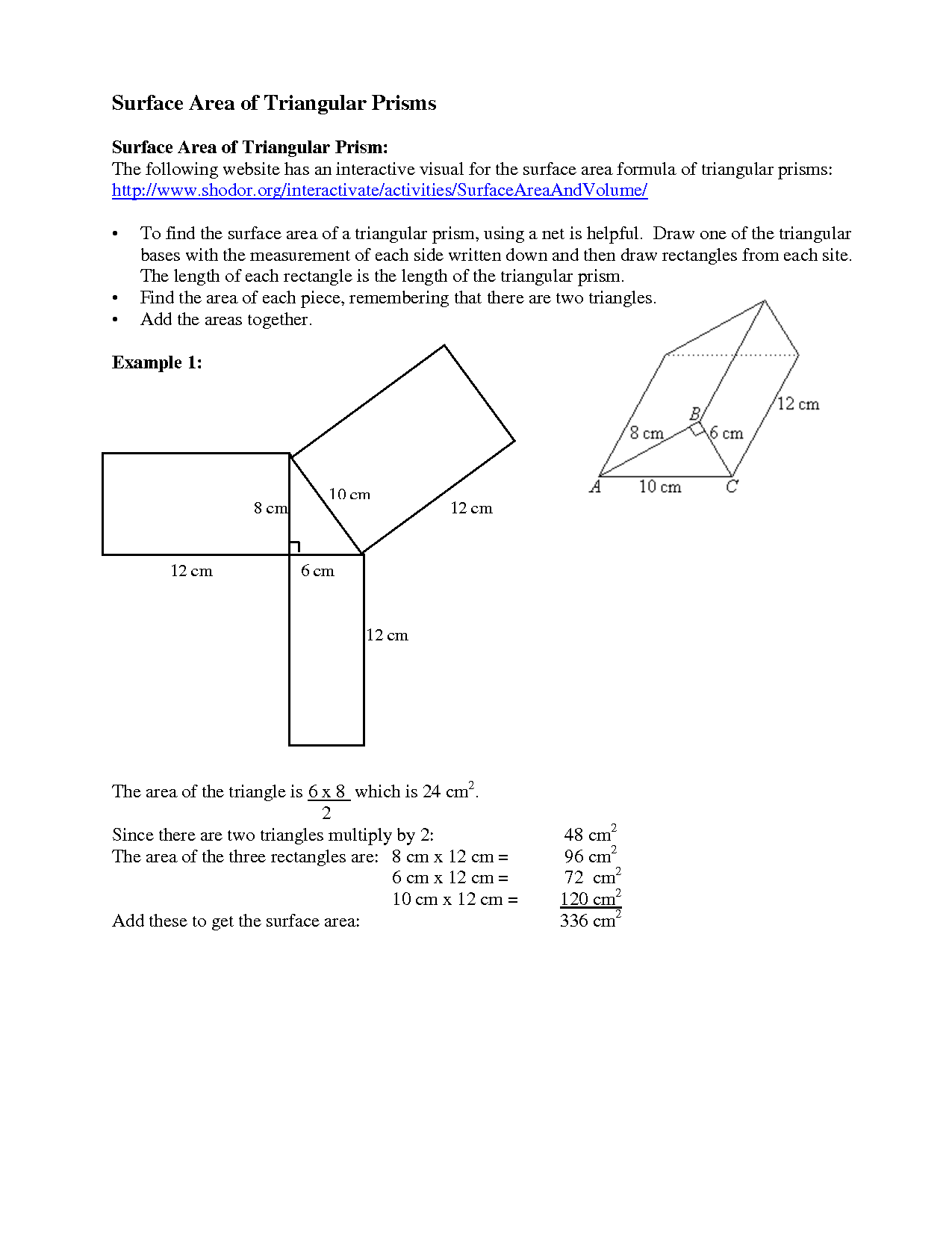12 Best Images Of Finding Volume Of Prism Worksheets