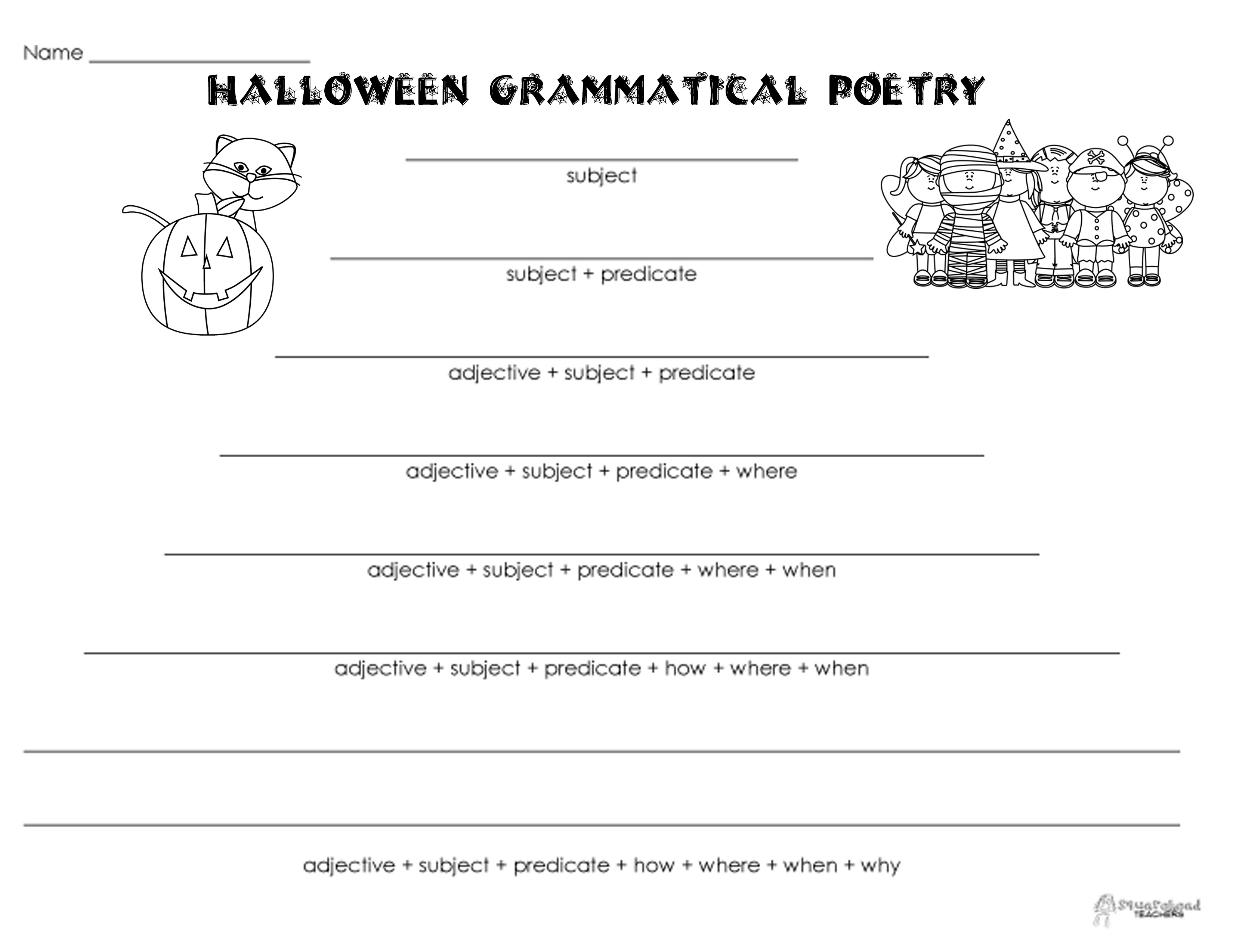 10 Best Images Of Printable Halloween Riddles Worksheets
