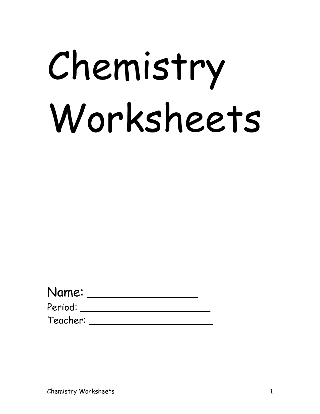 10 Best Images Of Chemistry Significant Figures Worksheet