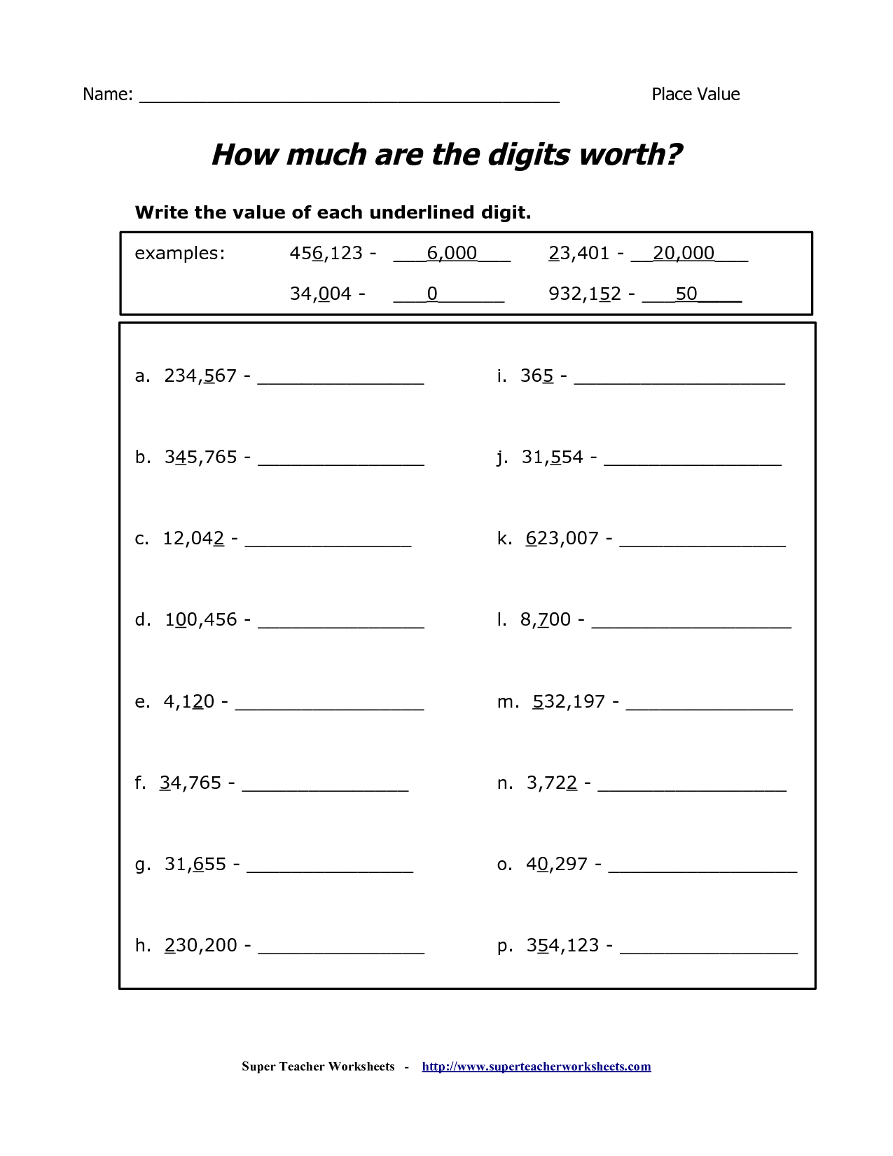 18 Best Images Of Super Teacher Worksheets 2