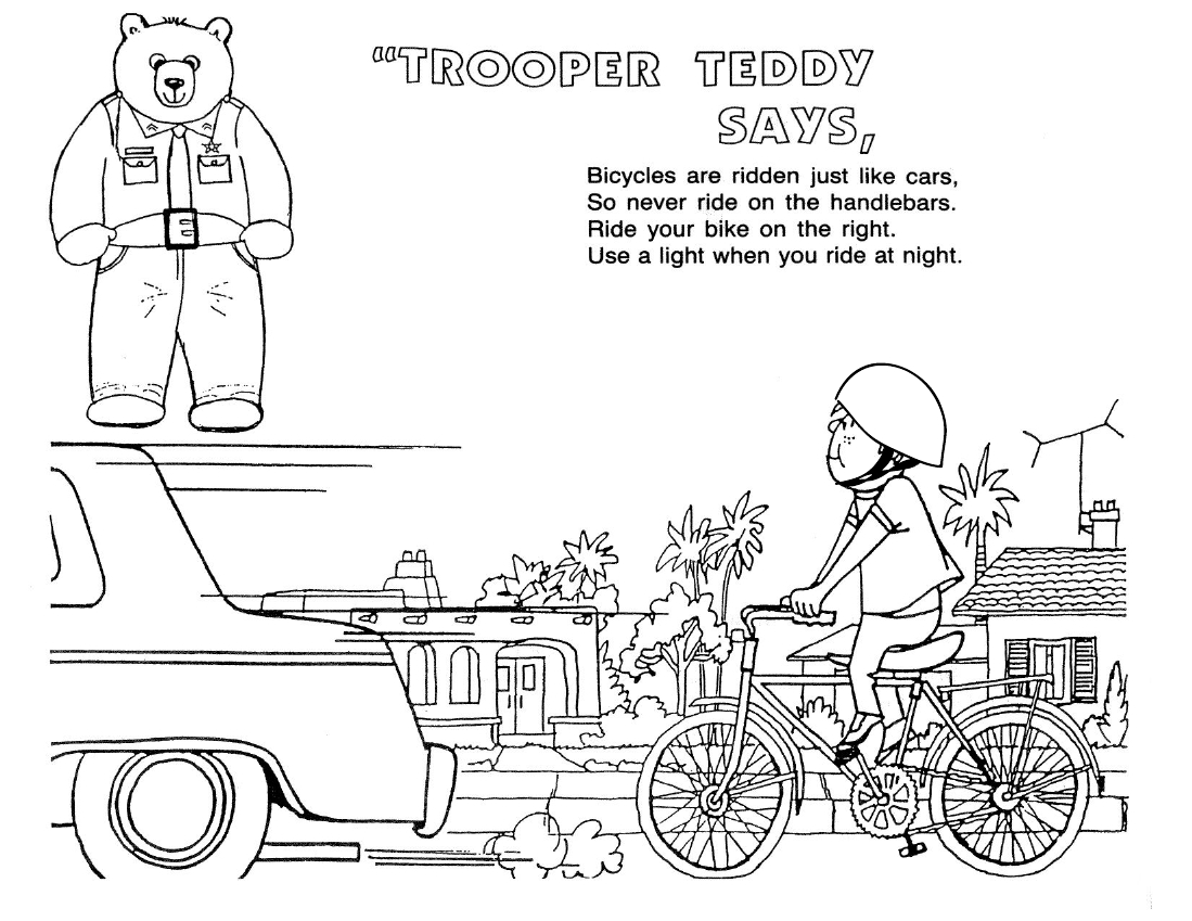 Public Safety Worksheet For Kindergarten