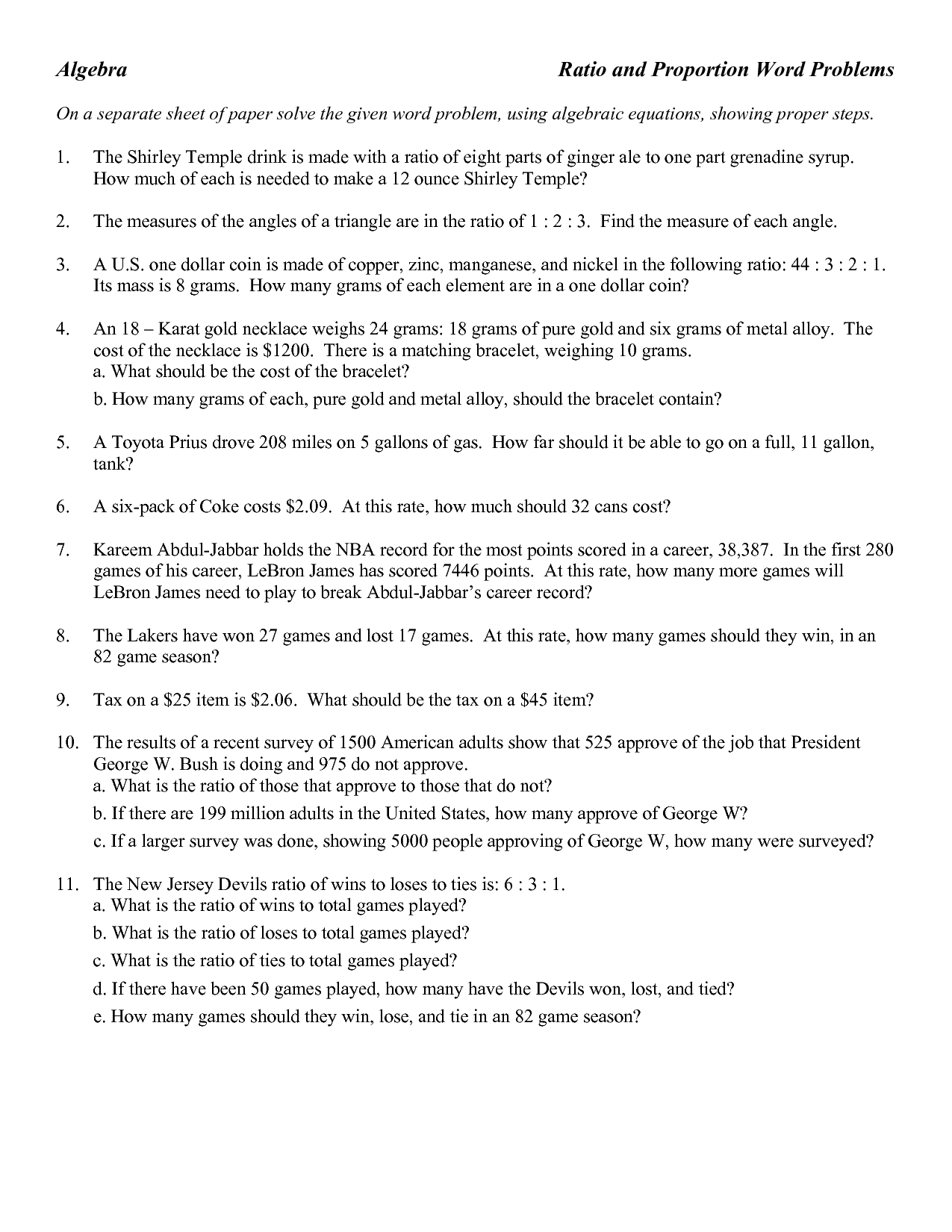 13 Best Images Of Angles Word Problems Worksheets