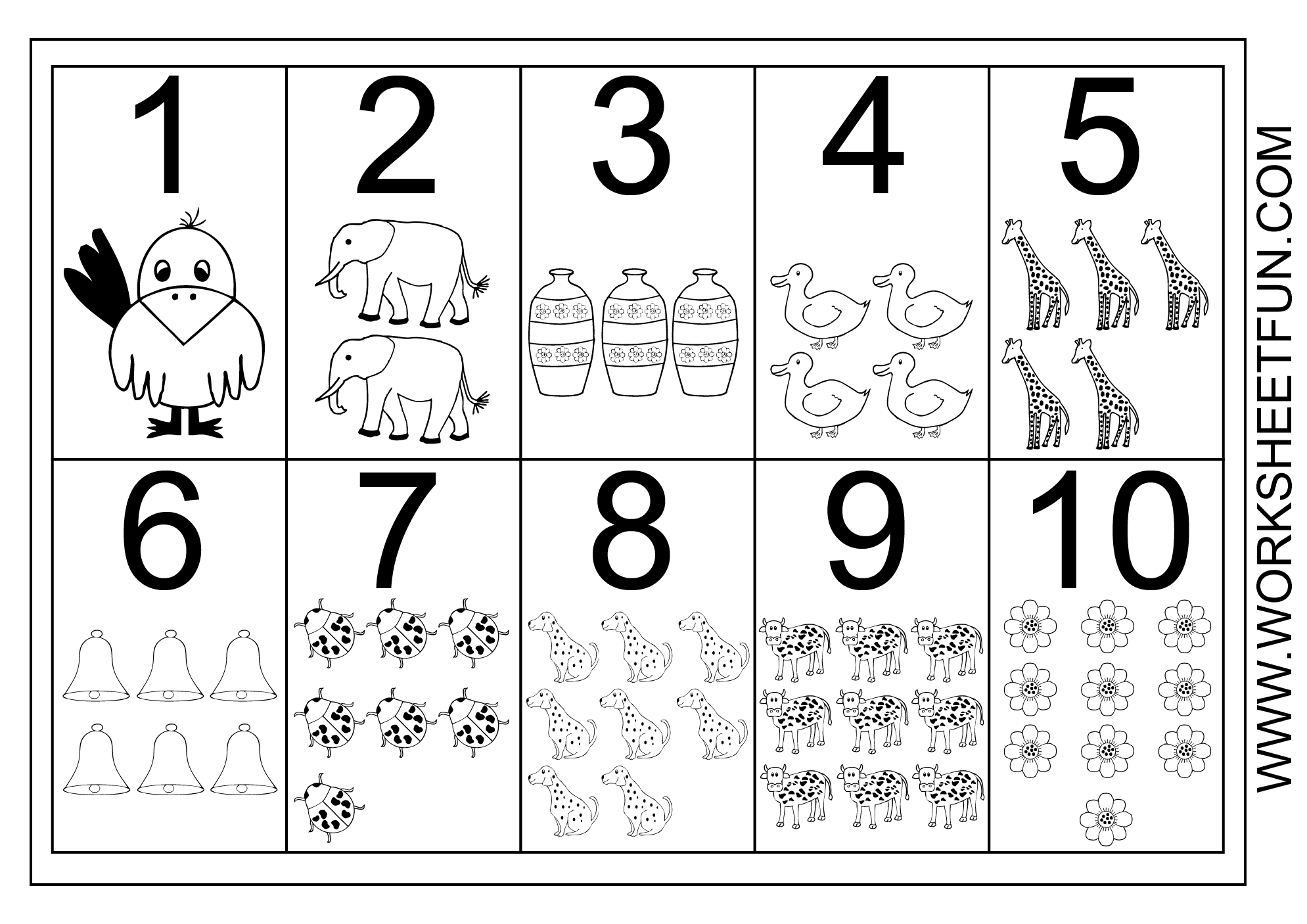 12 Best Images Of Number Words 1 10 Worksheets For