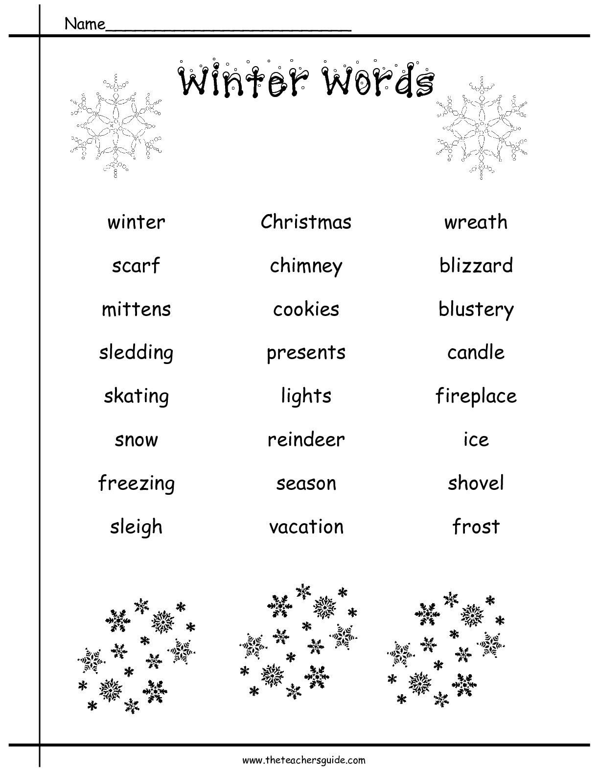 7 Best Images Of Science Christmas Worksheets