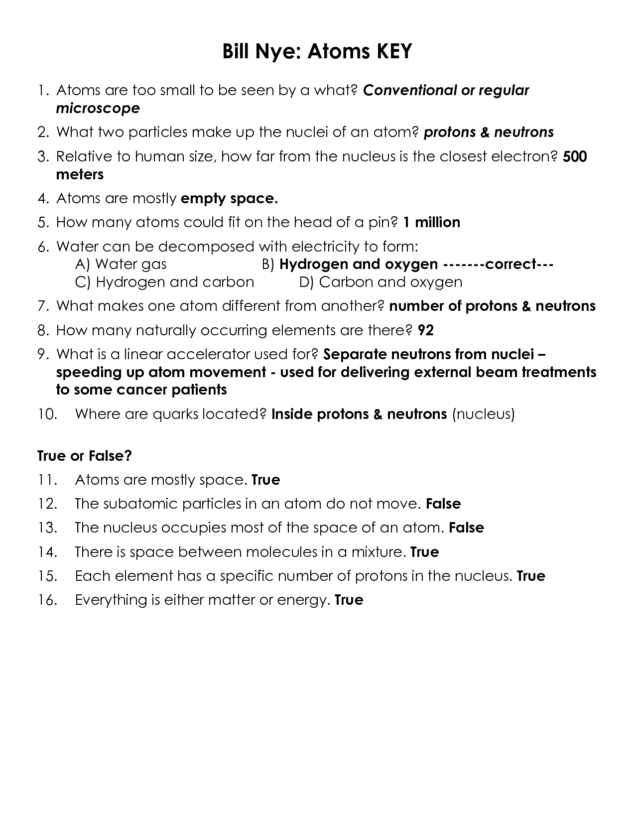 Worksheet Bill Nye Static Electricity Worksheet Grass