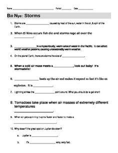 12 Best Images Of Bill Nye Atmosphere Worksheet