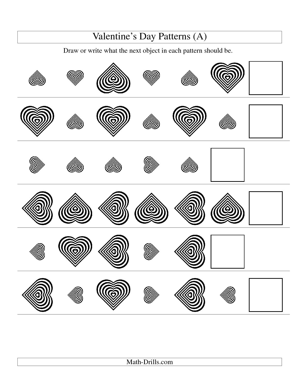 12 Best Images Of Black And White Worksheets