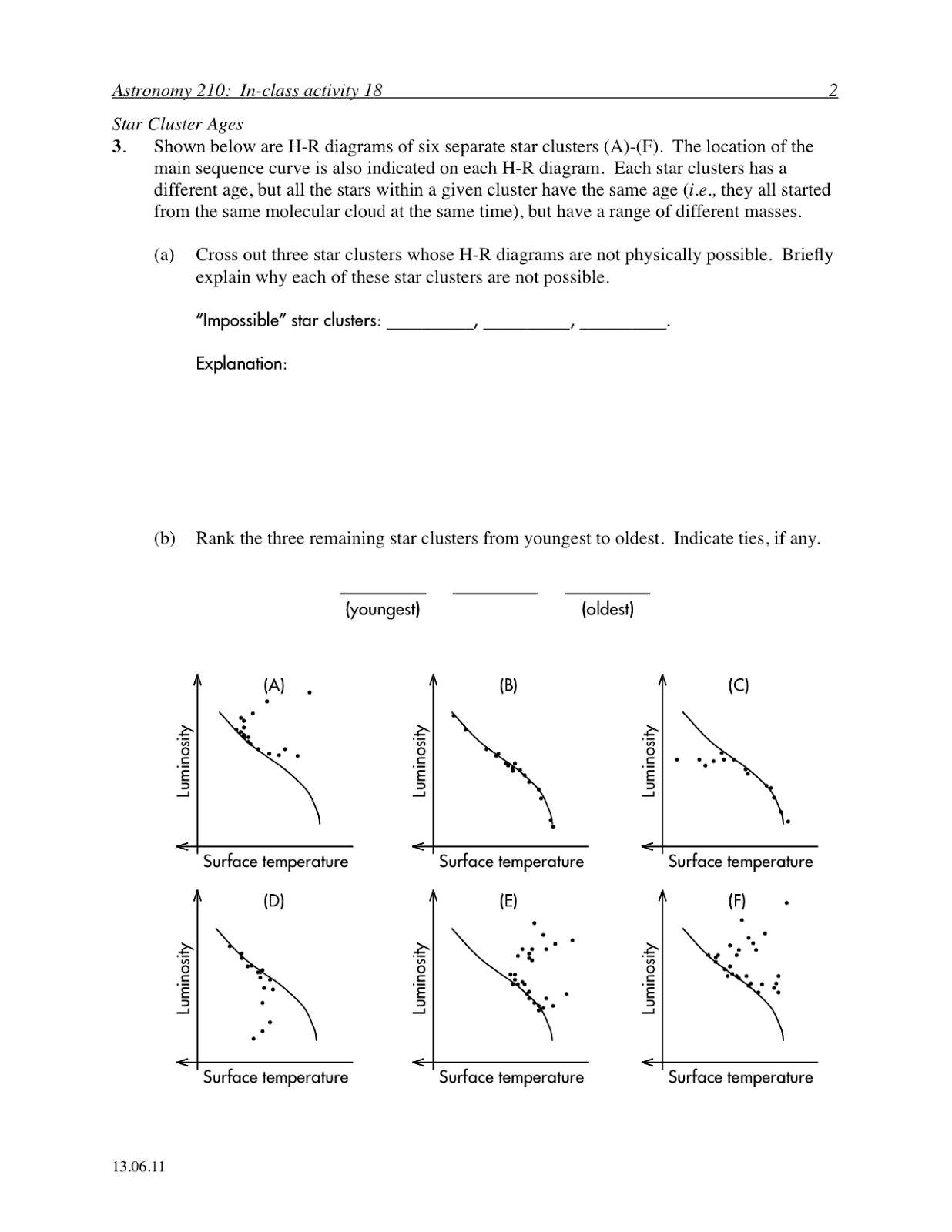 17 Best Images Of Astronomy Star Evolution Worksheet